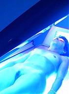 im solarium bespannt