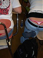 girls mit string und stringtanga heimlich fotografiert