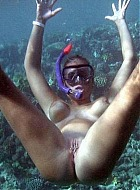 Unterwasser Sex
